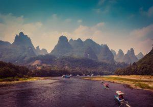漓江の桂林